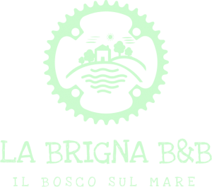 Logo La brigna bike bad and breakfast marketing turistico